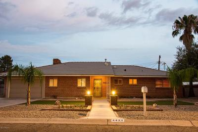 Tucson Single Family Home For Sale: 4422 E Bryn Mawr Road
