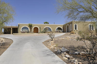Tucson Single Family Home For Sale: 6811 N Camino De Fray Marcos