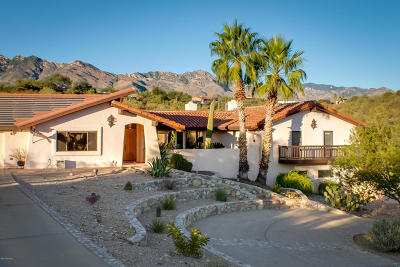 Tucson Single Family Home For Sale: 4340 N Camino Yermo