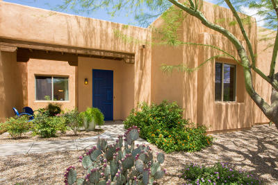 Tucson Single Family Home Active Contingent: 10637 E George Brookbank Place