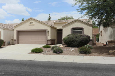 Tucson Single Family Home Active Contingent: 7409 E Maritime Drive