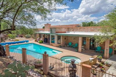Oro Valley Single Family Home Active Contingent: 721 W Valle Del Oro