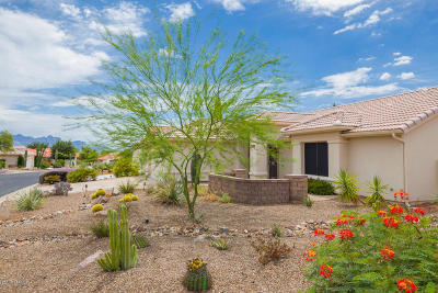 Tucson Single Family Home Active Contingent: 38120 Mountain Site Drive