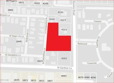 Residential Lots & Land For Sale: 4101 N Romero Road