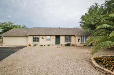 Marana Single Family Home Active Contingent: 11501 W Grier Road