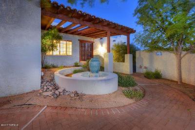 Tucson Single Family Home For Sale: 4740 E Avenida Del Cazador