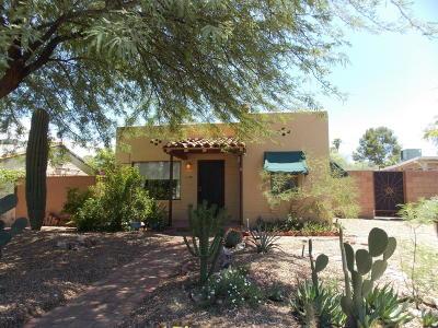 Tucson Single Family Home For Sale: 1132 E Alta Vista Street