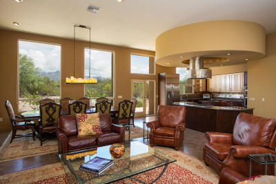 Tucson Single Family Home Active Contingent: 8135 E Cloud Road
