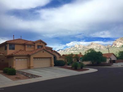 Oro Valley Single Family Home For Sale: 10530 N Camino Rosas Nuevas