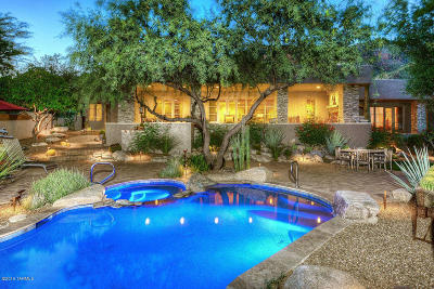 Tucson Single Family Home For Sale: 7390 N Cobblestone Road