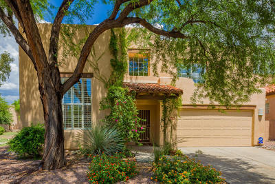 Single Family Home Active Contingent: 6609 E Ghost Flower Drive