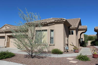 Oro Valley Single Family Home Active Contingent: 13401 N Rancho Vistoso Boulevard #148