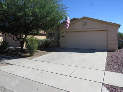 Tucson Single Family Home Active Contingent: 3531 W Courtney Crossing Lane