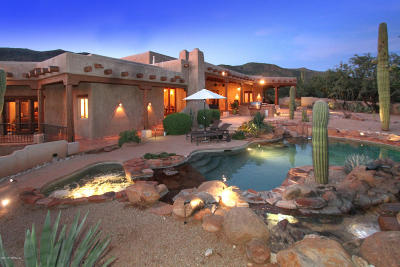 Tucson Single Family Home For Sale: 5332 N Shandon Place
