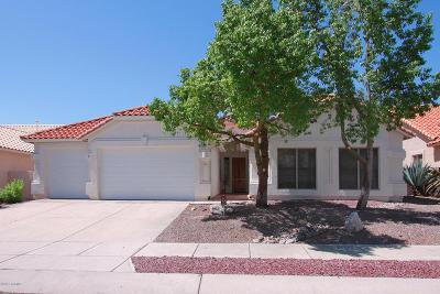 Tucson Single Family Home For Sale: 7614 E Camino Amistoso