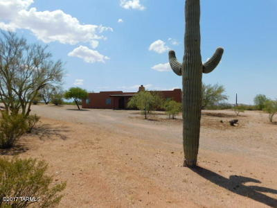 Tucson Single Family Home For Sale: 43925 E Cadillac Wash Road