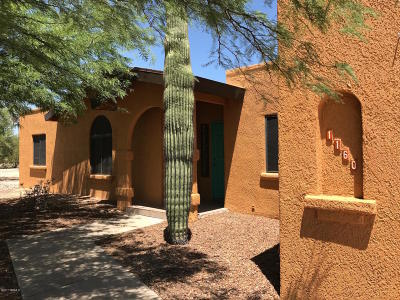 Tucson Single Family Home For Sale: 1160 W Panorama Lane