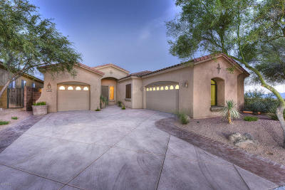 Marana Single Family Home Active Contingent: 12824 N Cactus Terrace Place