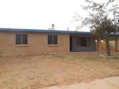 Tucson AZ Single Family Home For Sale: $149,900