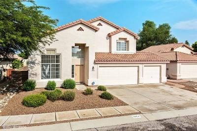 Tucson Single Family Home For Sale: 1854 N Marble Ridge Place