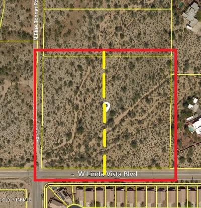 Tucson Residential Lots & Land For Sale: W Linda Vista Boulevard
