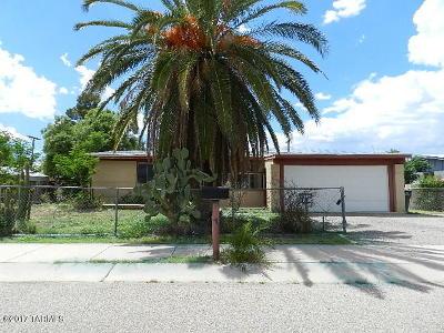 Tucson AZ Single Family Home For Sale: $102,500