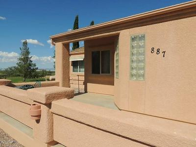 Cochise Single Family Home For Sale: 886 W Kaibab Way