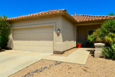 Tucson Single Family Home For Sale: 7548 W Mission View Place