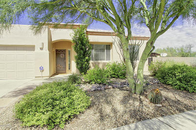 Marana Single Family Home For Sale: 4851 W Saguaro Point Place