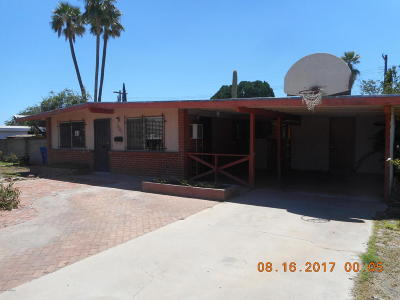 Tucson Single Family Home For Sale: 1309 W McMillan Place