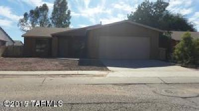 Tucson Single Family Home For Sale: 5945 S Pin Oak Drive