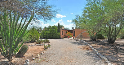 Tucson Single Family Home For Sale: 3529 N Sierra Madre Drive