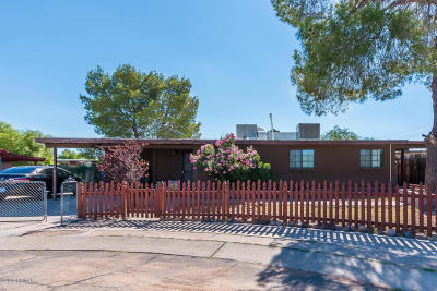 Tucson AZ Single Family Home For Sale: $134,900