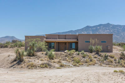Tucson Single Family Home For Sale: 14780 N Swan Rd & Parcel 222-38-082f