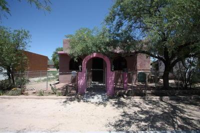 Tucson AZ Single Family Home For Sale: $110,000