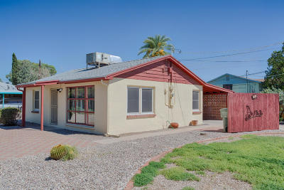 Tucson AZ Single Family Home For Sale: $112,500