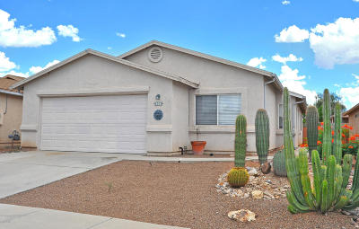 Tucson Single Family Home For Sale: 3553 W Ethan Crossing Lane
