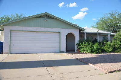 Tucson Single Family Home For Sale: 2400 W Armadillo Street