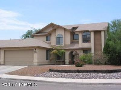 Tucson Single Family Home For Sale: 10132 E Danbury Place