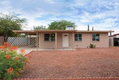 Tucson AZ Single Family Home For Sale: $144,900