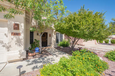 Tucson Single Family Home Active Contingent: 196 S London Station
