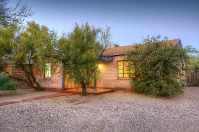 Tucson Single Family Home For Sale: 1619 N Treat Avenue