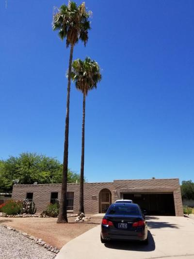Tucson Single Family Home Active Contingent: 8610 E Lee Lane