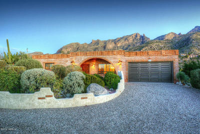 Tucson Single Family Home For Sale: 6831 N Cocopas Road