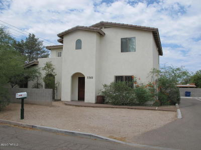 Tucson Single Family Home For Sale: 2365 N Vine Avenue