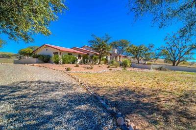 Sonoita Single Family Home For Sale: 13055 E Singing Valley Road