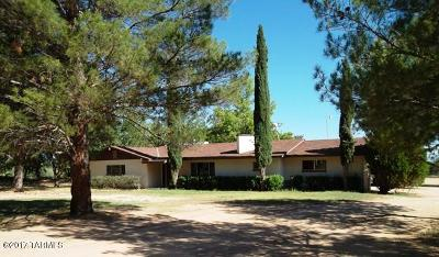 Cochise County Single Family Home For Sale: 2510 W Hollyhock Lane