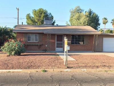 Tucson AZ Single Family Home For Sale: $85,900