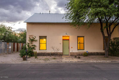 Tucson AZ Single Family Home Active Contingent: $425,000