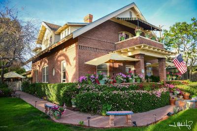 Single Family Home For Sale: 307 E University Boulevard